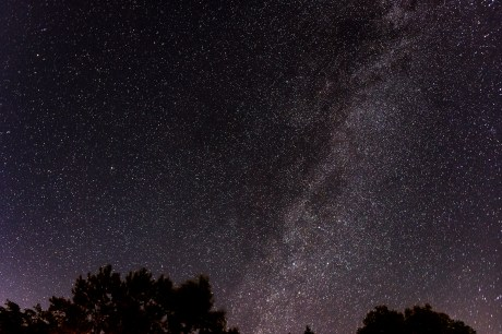 sibbald point milky way astrophotography