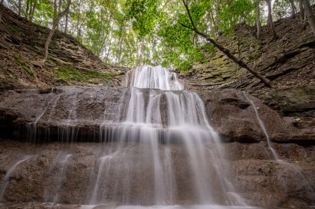 sherman falls waterfall ancaster ontario