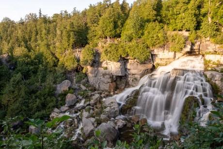 inglis falls waterfall owen sound