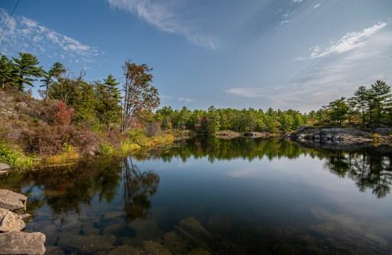 muskoka ontario lake landscape photography