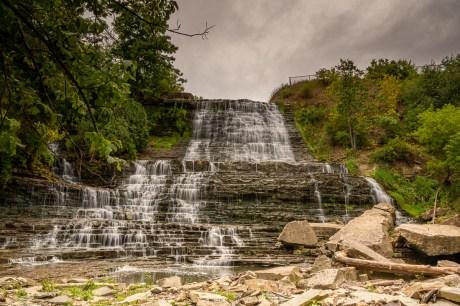 albion falls waterfall hamilton ontario