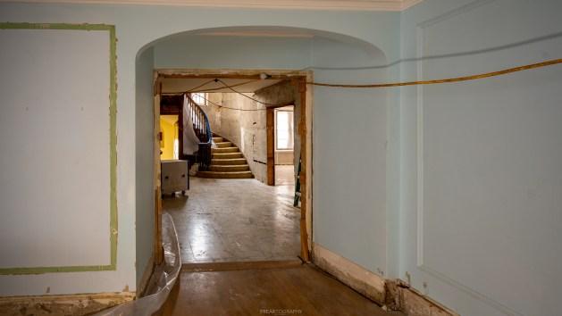 Abandoned Tudor Style Mansion