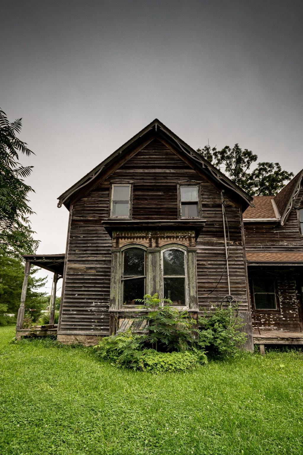 Creepy Haunted Looking Abandoned Century House