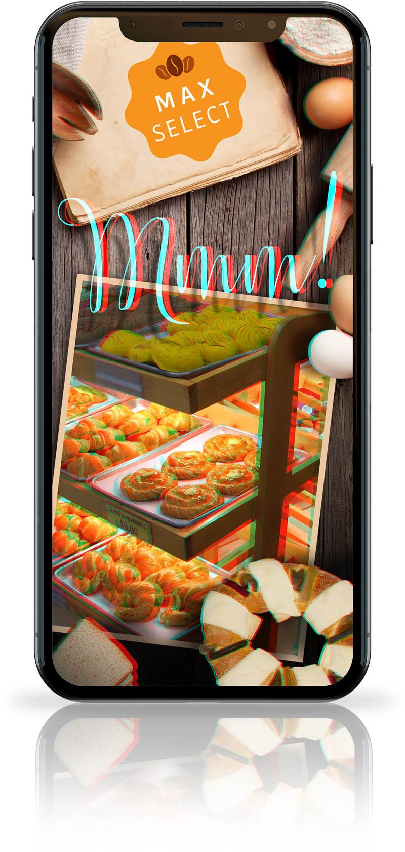 Calimax 3D App mobile screen 001