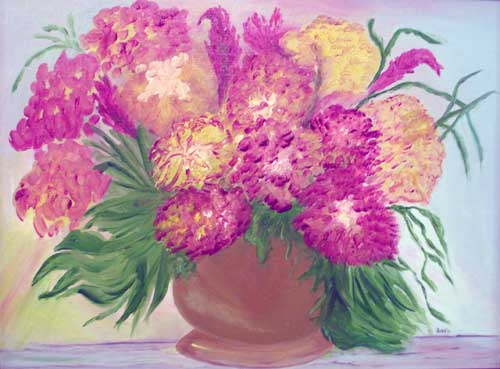Freda's Abstract Flowers