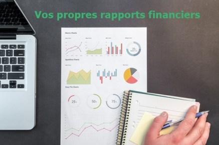 Finances Personnelles - Tenez à jour vos propres rapports financiers