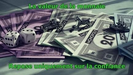 La confiance dans une monnaie