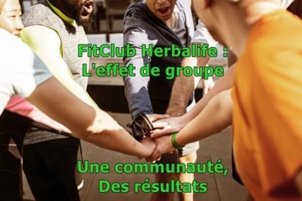 FitClub une communauté Herbalife pour aider grâce à l'effet de groupe