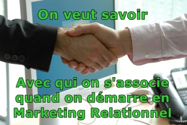 Marketing relationnel marketing de réseau avec qui on associe