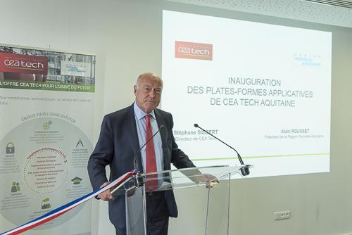 photo evenementielle inauguration à Pesac près de Bordeaux