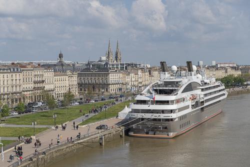 photo Escale inaugurale Viking-Star à Bordeaux Gironde
