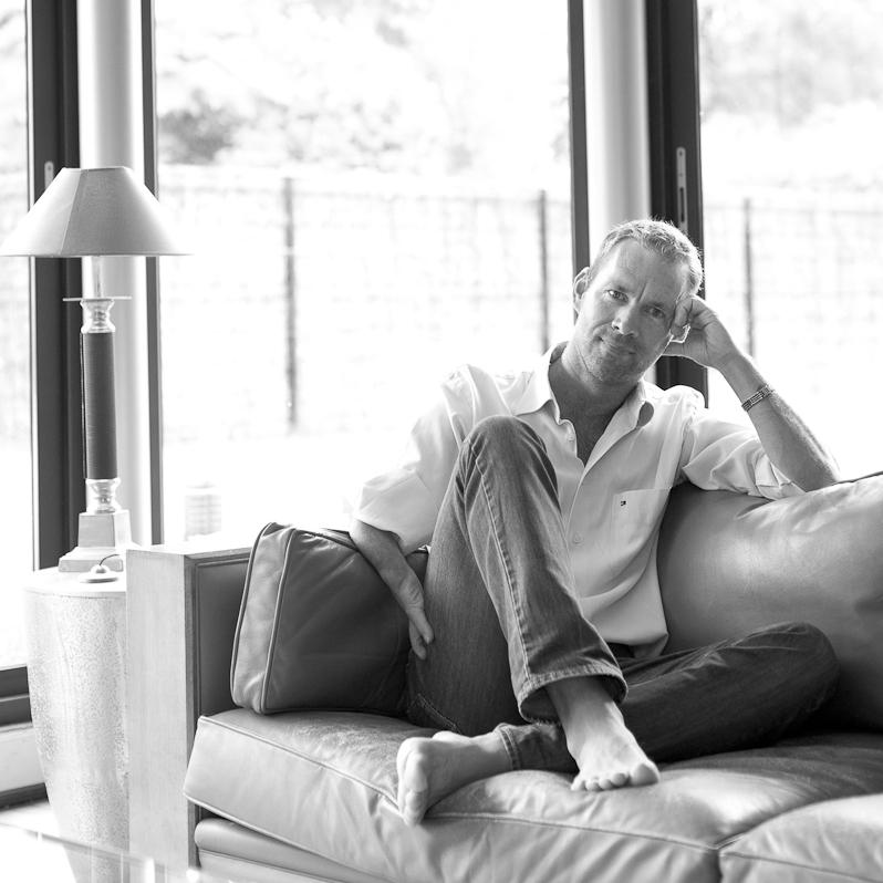 Portrait de Fred Blanpain photographe Bordeaux Pessac