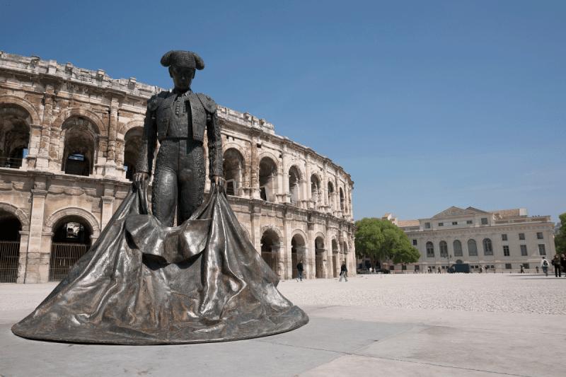 photo tourisme Nîmes Gard sud France