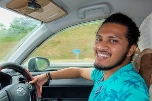 Chathushara Jayaweera private driver for tourist - Colombo