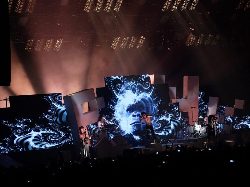 Photo de concert ambiance décor