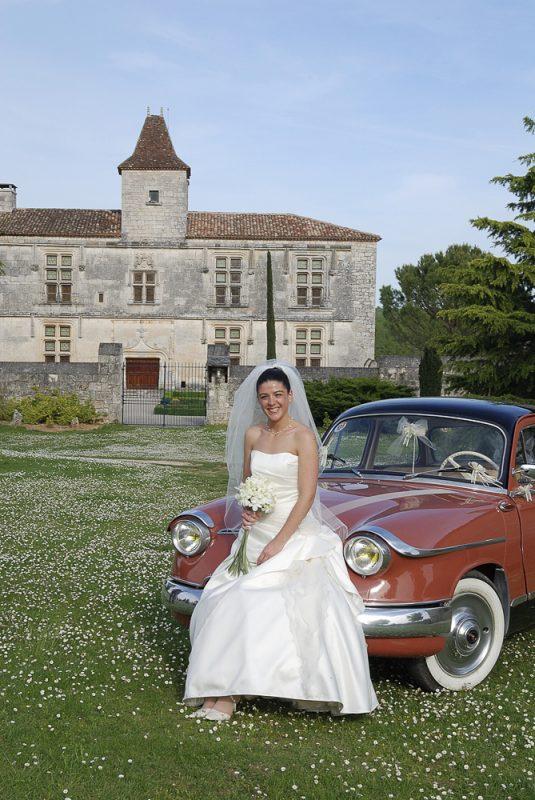 photo de mariage dans un château près de Bordeaux