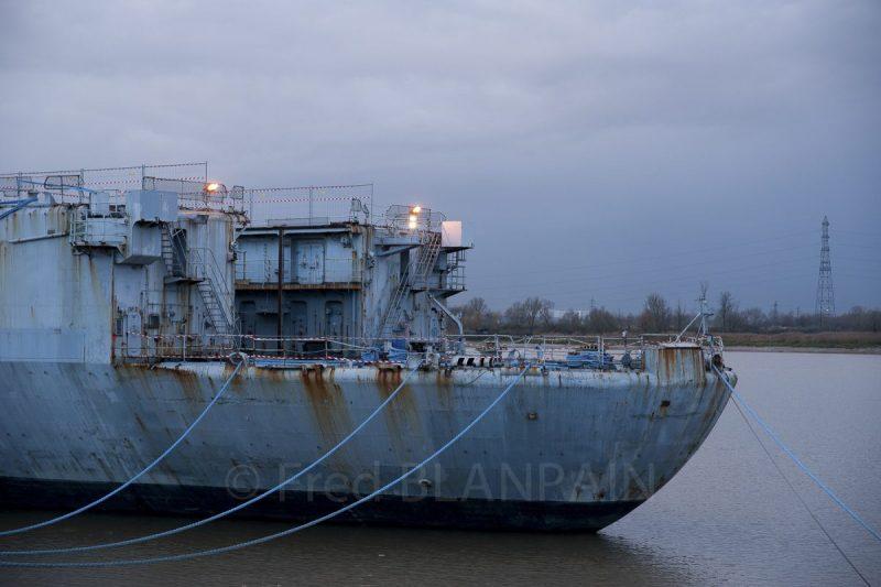 Photographe industrie maritime port dock
