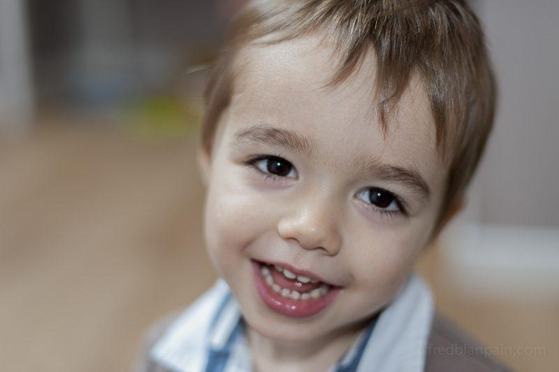 portrait d'enfants et de bébé à domicile