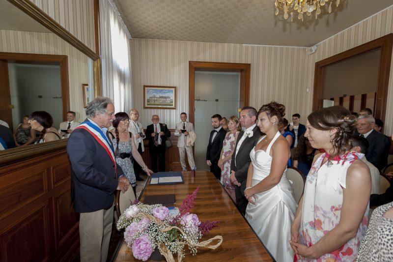 photo reportage mariage mairie begles