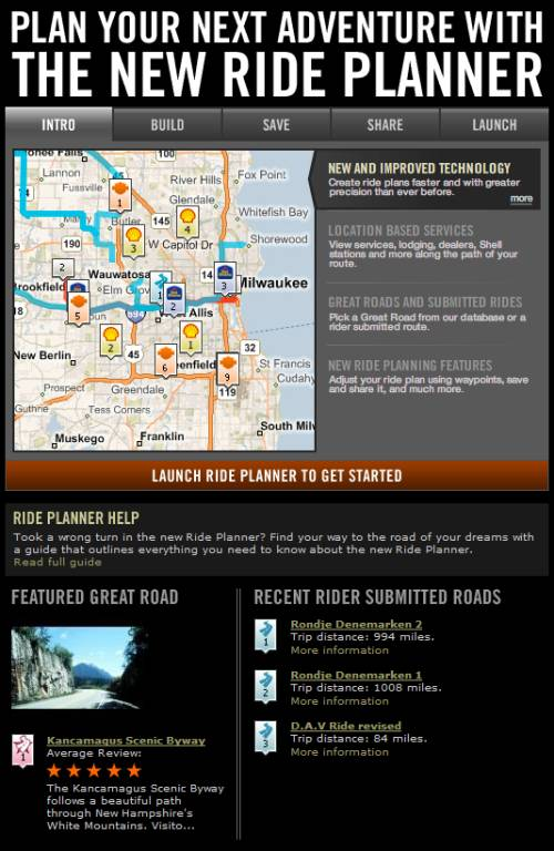 RidePlanner_Home