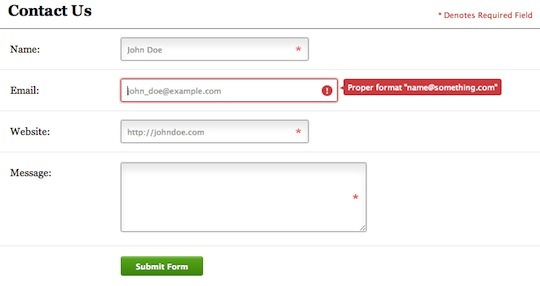 HTML5-Contact-Form