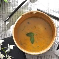soupe de légumes à la citronnelle