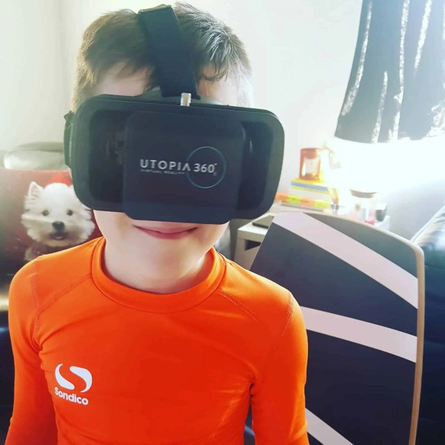Virtual Reality Headset Utopia 360