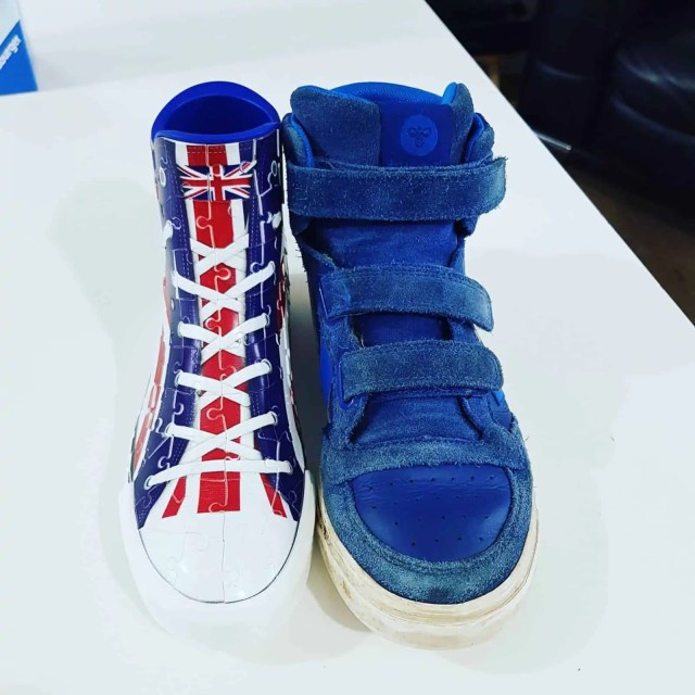 Size of the Ravensburger Sneaker