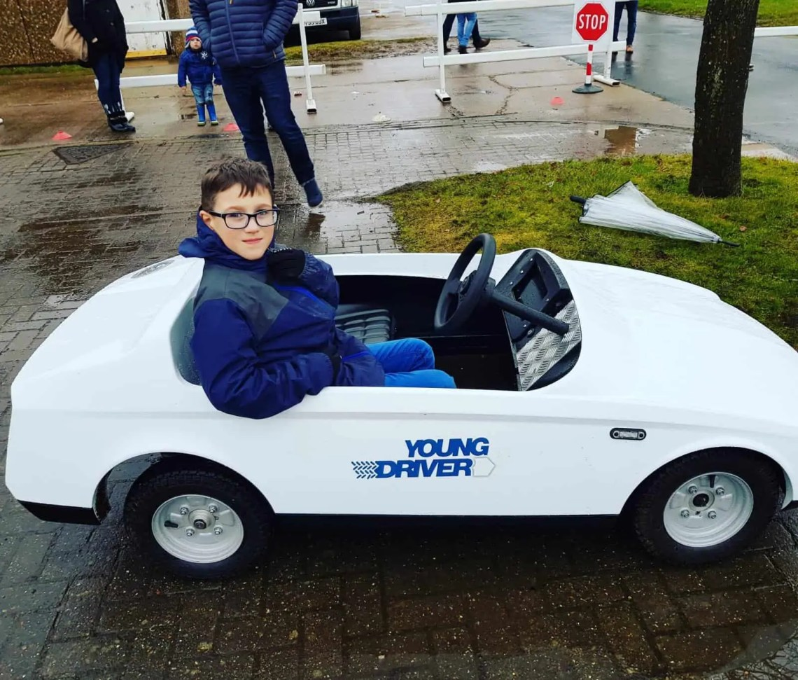 Young Drivers - Learning to drive at 8