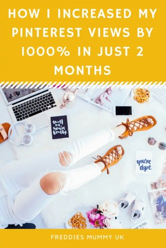 How I increased Pinterest views by 1000% in just 2 months. With the best pinterest scheduler Tailwind #bloggertips