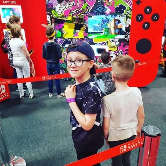 Nintendo Switch at Kidtropolis NEC