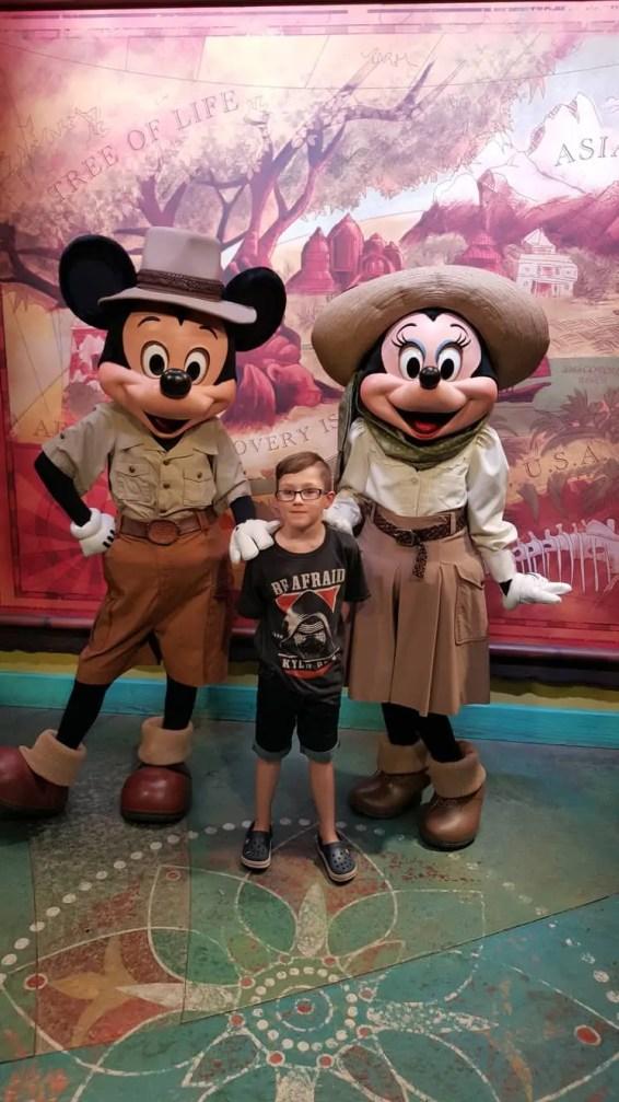 Meeting Characters at Animal Kingdom Orlando