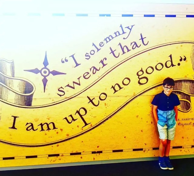I solemnly swear that I am up to no good. Harry Potter studio tour