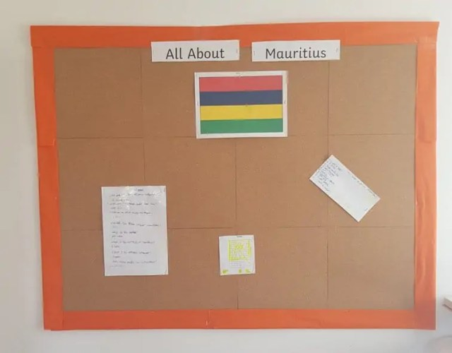 Topic Board for homeschooling