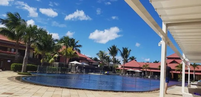 Tamassa Resort Mauritius swimming pool