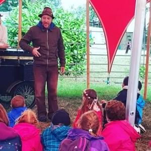 Camper Calling Kids Entertainment Storyteller
