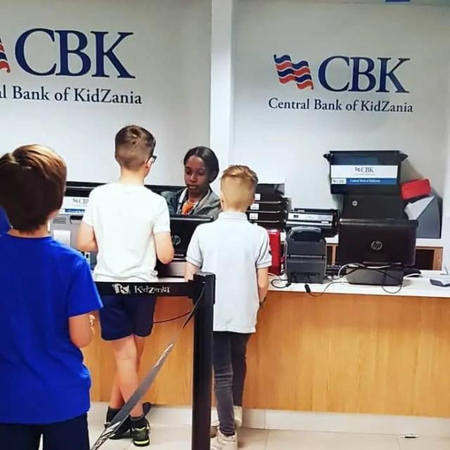Kidzania Westfield London Bank