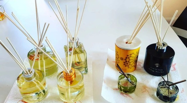 Make your own reed diffusers
