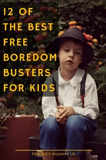 12 Of The Best Free Boredom Busters For Kids #homeschool #boredom #freeactivities #boredombusters
