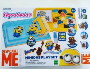Encouraging creativity with Despicable Me Aquabeads