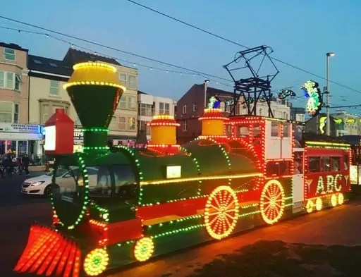 Blackpool Illuminations Train
