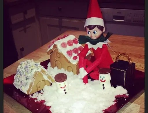 14 of the best free elf on the shelf antics for kids including the best personalised Christmas Eve Box #xmas #elfontheshelf