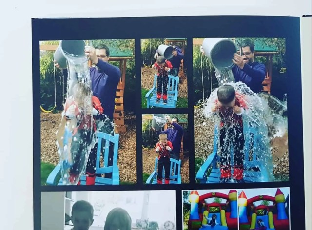 Ice Bucket Challenge! The importance of making memories