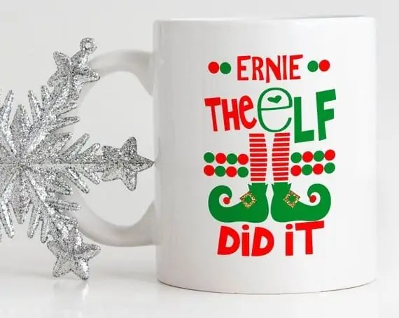 The Elf Did it mug