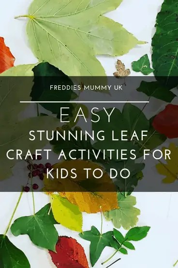 Easy Stunning Leaf Craft Activities For Kids To Do - fall leaves painting #fall #art #crafts #autumn #leafart #homeschool #homeeducation #learningathome #artsandcrafts
