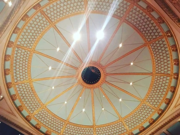 Ceiling at ROH