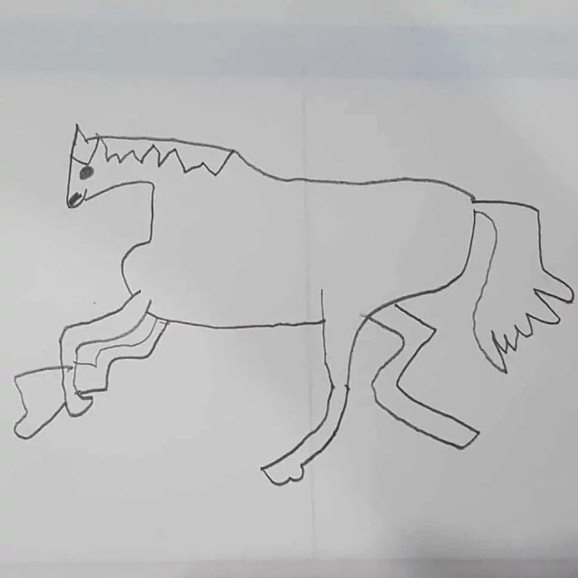 Free Education Resources with Twinkl - Tate Gallery Drawing a horse #art #horse