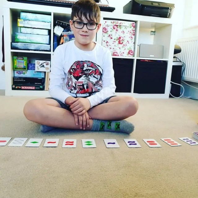 SET the family game of visual perception #boardgames