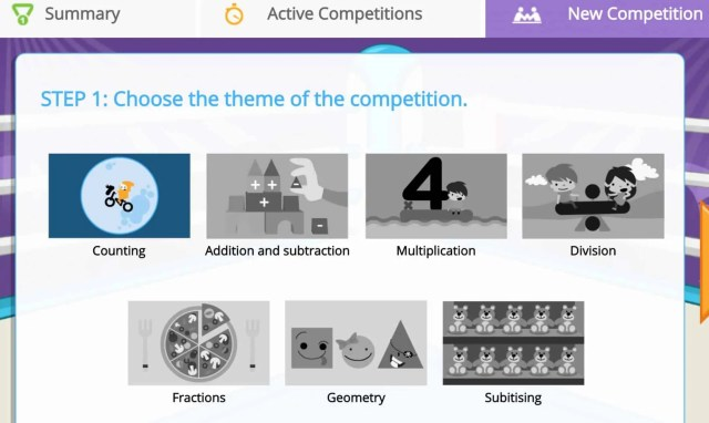 Competitions with Smartick