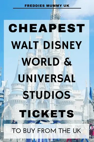 Cheapest Walt Disney World Tickets available from the UK#disney #disneytickets #florida #orlando